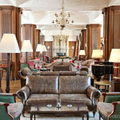 Carlton Hotel St Moritz интерьер отеля