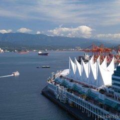 Отель Fairmont Pacific Rim Канада, Ванкувер - отзывы, цены и фото номеров - забронировать отель Fairmont Pacific Rim онлайн приотельная территория