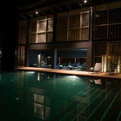 Отель Furnas Boutique Hotel - Thermal & Spa Португалия, Фурнаш - 1 отзыв об отеле, цены и фото номеров - забронировать отель Furnas Boutique Hotel - Thermal & Spa онлайн бассейн фото 3