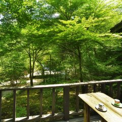 Отель Oyado Hanabou Минамиогуни балкон