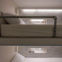 Отель Sleepbox Sukhumvit 22 Бангкок удобства в номере