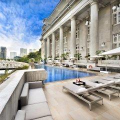 The Fullerton Hotel Singapore балкон