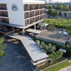 Отель The Silver Palm Rama 9 - Bangkok парковка