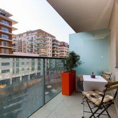 Отель Sun Resort Apartments Венгрия, Будапешт - 5 отзывов об отеле, цены и фото номеров - забронировать отель Sun Resort Apartments онлайн балкон