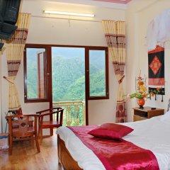 Sapa Sky Hotel комната для гостей