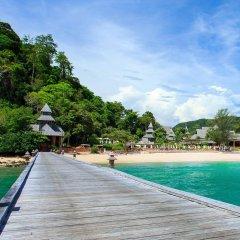 Отель Santhiya Koh Yao Yai Resort & Spa пляж фото 2