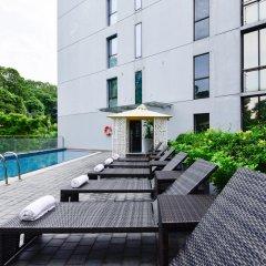 Отель Travelodge Harbourfront Singapore бассейн