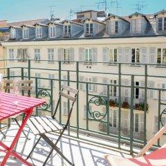 Отель Апарт-Отель Ajoupa Франция, Ницца - 1 отзыв об отеле, цены и фото номеров - забронировать отель Апарт-Отель Ajoupa онлайн балкон