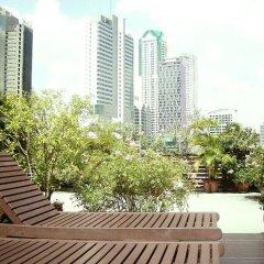 Апартаменты Purita Serviced Apartment Бангкок балкон
