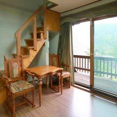 Отель Chalet Resort Южная Корея, Пхёнчан - отзывы, цены и фото номеров - забронировать отель Chalet Resort онлайн комната для гостей фото 5
