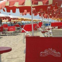 Hotel Capri Римини пляж