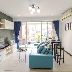 Апартаменты Bangkok Two Bedroom Apartment Бангкок комната для гостей фото 4
