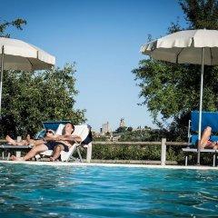Отель Villa Ducci Италия, Сан-Джиминьяно - отзывы, цены и фото номеров - забронировать отель Villa Ducci онлайн бассейн