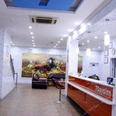 Отель 7Days Inn Guixi Railway Station интерьер отеля