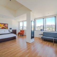 Отель Ginosi Metropolitan Apartel США, Лос-Анджелес - отзывы, цены и фото номеров - забронировать отель Ginosi Metropolitan Apartel онлайн комната для гостей фото 4