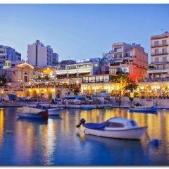 Отель Seafront LUX Apartment wt Pool, Upmarket Area Мальта, Слима - отзывы, цены и фото номеров - забронировать отель Seafront LUX Apartment wt Pool, Upmarket Area онлайн пляж фото 2