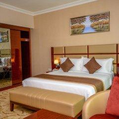 Отель Al Salam Grand Hotel-Sharjah ОАЭ, Шарджа - отзывы, цены и фото номеров - забронировать отель Al Salam Grand Hotel-Sharjah онлайн комната для гостей фото 3