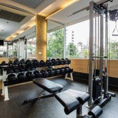 Отель Adelphi Grande Sukhumvit By Compass Hospitality Бангкок фитнесс-зал