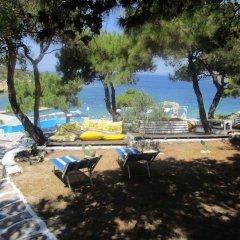 Club Mackerel Holiday Village Турция, Карабурун - отзывы, цены и фото номеров - забронировать отель Club Mackerel Holiday Village онлайн пляж фото 2