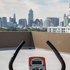 Отель Like Sukhumvit 16 Бангкок фитнесс-зал фото 2