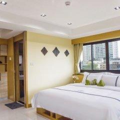Отель Sillemon Garden Бангкок комната для гостей фото 3