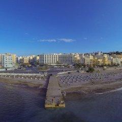 Blue Sky City Beach Hotel пляж