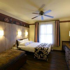 Disney's Hotel Cheyenne комната для гостей