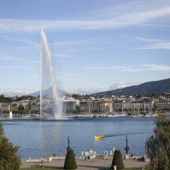 Отель Beau Rivage Geneva Швейцария, Женева - 2 отзыва об отеле, цены и фото номеров - забронировать отель Beau Rivage Geneva онлайн пляж фото 2