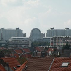 Отель B&b Living In Brusel Брюссель балкон