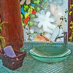 Отель Robinson's Cove Villas - Deluxe Wallis Villa Французская Полинезия, Муреа - отзывы, цены и фото номеров - забронировать отель Robinson's Cove Villas - Deluxe Wallis Villa онлайн бассейн фото 3