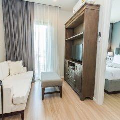Отель Dlux Condominium Таиланд, Бухта Чалонг - отзывы, цены и фото номеров - забронировать отель Dlux Condominium онлайн комната для гостей