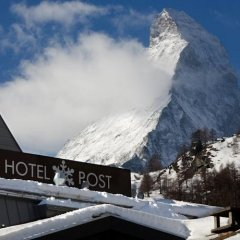 Отель Unique Hotel Post Швейцария, Церматт - отзывы, цены и фото номеров - забронировать отель Unique Hotel Post онлайн фото 2