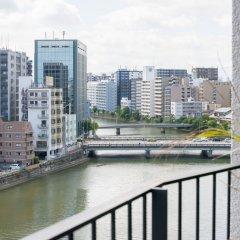 Отель A Good Day Fukuoka Riverside Фукуока приотельная территория фото 2