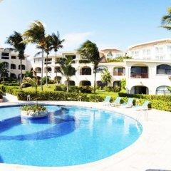 Отель Xaman Ha Condominiums Плая-дель-Кармен бассейн