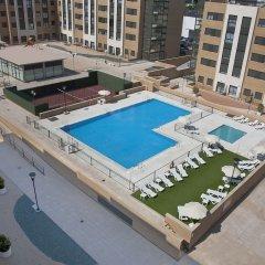 Отель Compostela Suites бассейн