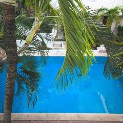 Отель Plaza Carrillo's Мексика, Канкун - отзывы, цены и фото номеров - забронировать отель Plaza Carrillo's онлайн бассейн фото 3