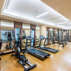 Отель Ravindra Beach Resort And Spa Таиланд, На Чом Тхиан - 6 отзывов об отеле, цены и фото номеров - забронировать отель Ravindra Beach Resort And Spa онлайн фитнесс-зал фото 3