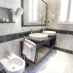 Отель Aurora Terme Италия, Абано-Терме - отзывы, цены и фото номеров - забронировать отель Aurora Terme онлайн ванная фото 2