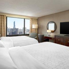 Отель Sheraton Centre Toronto Hotel Канада, Торонто - отзывы, цены и фото номеров - забронировать отель Sheraton Centre Toronto Hotel онлайн комната для гостей фото 5