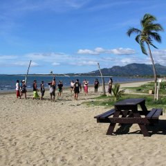 Отель Bamboo Backpackers Фиджи, Вити-Леву - отзывы, цены и фото номеров - забронировать отель Bamboo Backpackers онлайн пляж фото 2