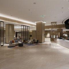 Отель Hyatt House Shanghai Hongqiao CBD Китай, Шанхай - отзывы, цены и фото номеров - забронировать отель Hyatt House Shanghai Hongqiao CBD онлайн интерьер отеля