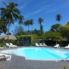 Отель Hibiscus Французская Полинезия, Муреа - отзывы, цены и фото номеров - забронировать отель Hibiscus онлайн бассейн