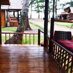 Отель Eco Lanta Hideaway Beach Resort Ланта балкон