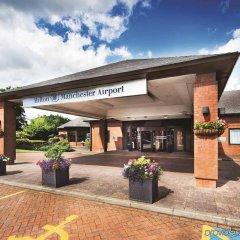 Отель Hilton Manchester Airport Манчестер гостиничный бар