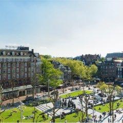 Отель Nh Amsterdam Schiller Амстердам балкон