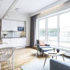 Апартаменты Biz Apartment Hammarby Sjostad Йоханнесхов в номере