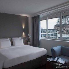 Отель Pullman Paris Tour Eiffel Франция, Париж - 1 отзыв об отеле, цены и фото номеров - забронировать отель Pullman Paris Tour Eiffel онлайн комната для гостей фото 3