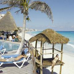 Отель Oleo Cancun Playa All Inclusive Boutique Resort пляж фото 3