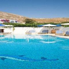 Отель Glaros бассейн