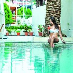 Отель Elinotel Polis Hotel Греция, Ханиотис - отзывы, цены и фото номеров - забронировать отель Elinotel Polis Hotel онлайн бассейн фото 3
